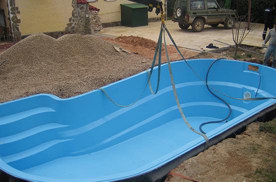 piscinas de poliéster Coinpol