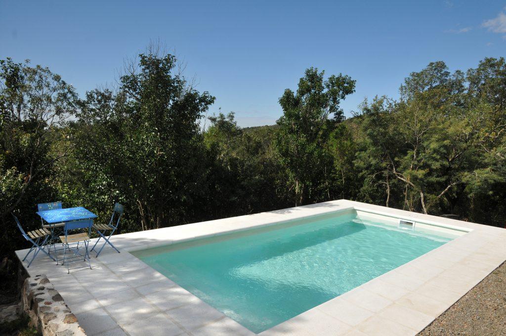 Color para piscina blanco