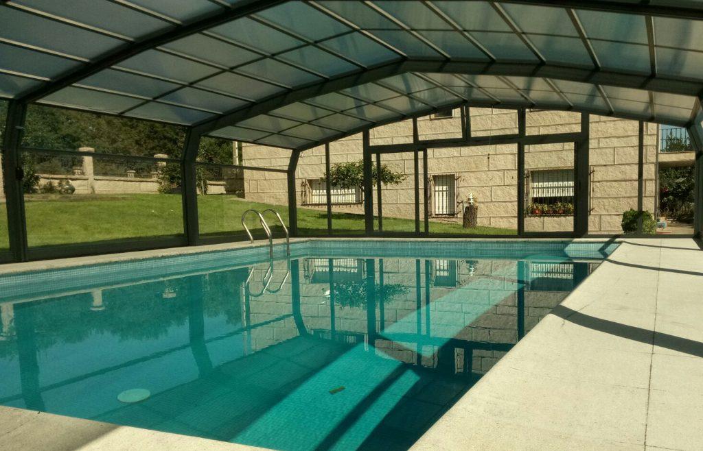 Cubiertas de piscina easy barata Madrid