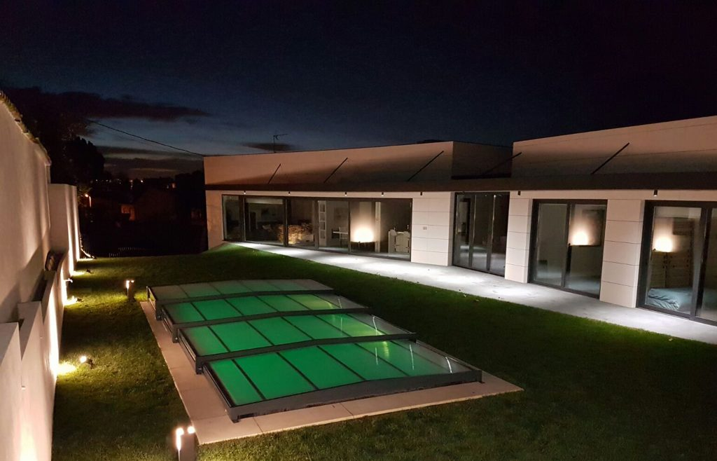 Cubierta de piscina barata plana premium