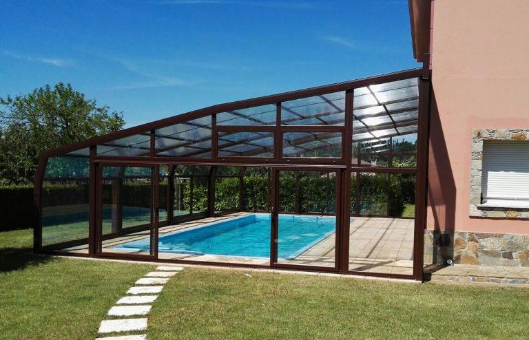 Cubiertas de piscinas adosadas en Madrid