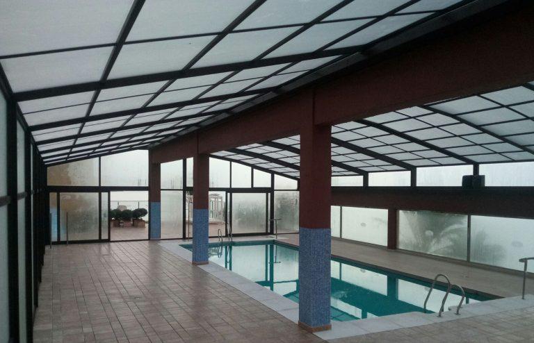 Cubiertas para piscinas Madrid y Guadalajara