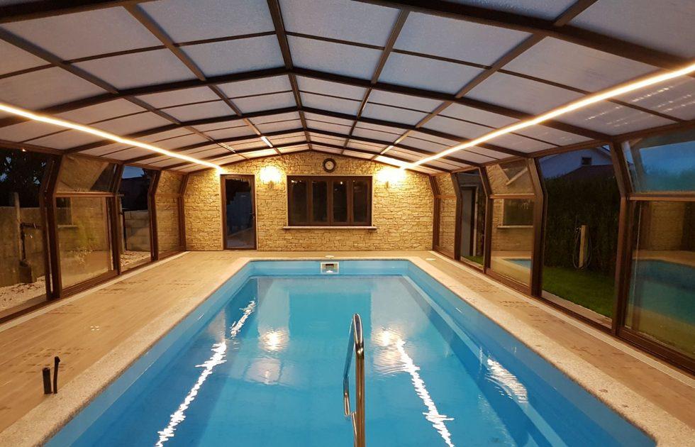 Cubiertas para piscinas fijas Guadalajara