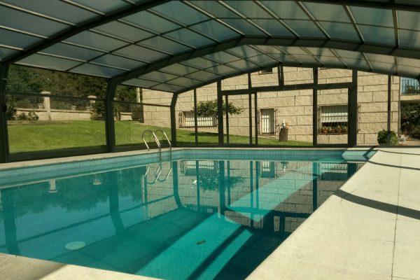 Cubiertas de piscina fácil barata Madrid