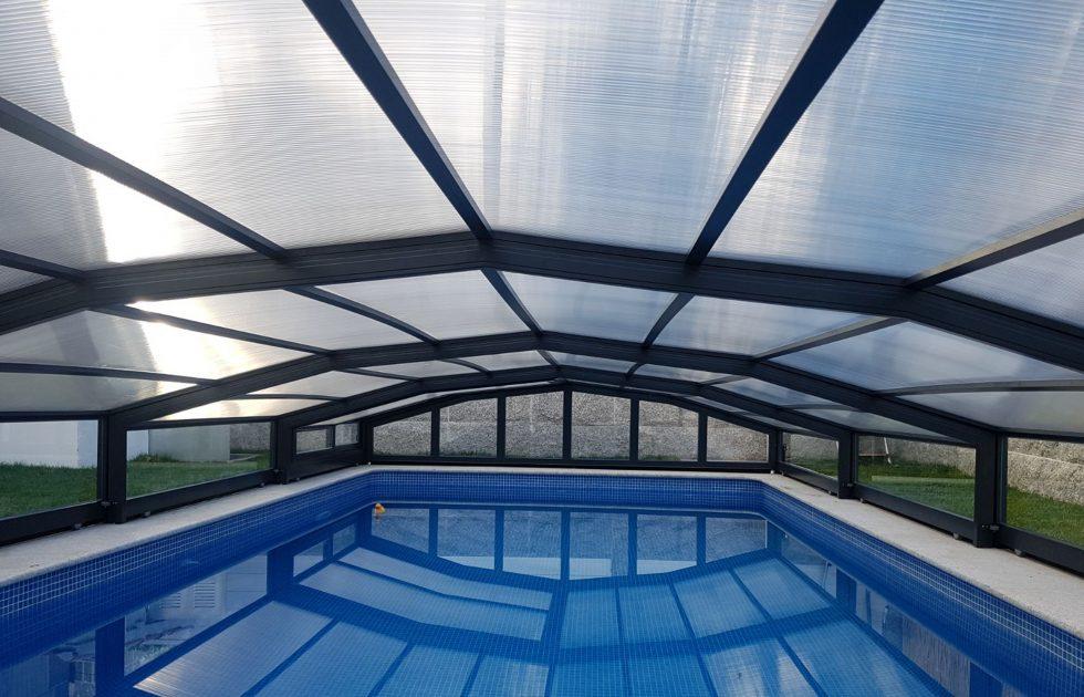 Cubierta para piscina baja premium barata